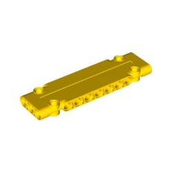Paneele 3x11x1 mit 4 Pinlöchern, gelb