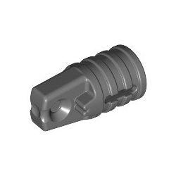 Zylinder mit Scharnier, 1 Finger, dunkelgrau