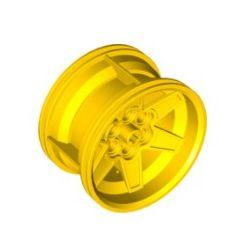 Felger 56mm x 34mm, 6 Pinlöcher, gelb