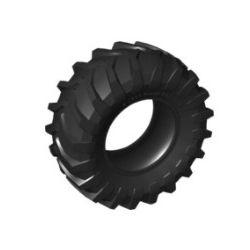 Reifen 107 x 44R, schwarz