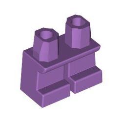 Beine kurz, violett