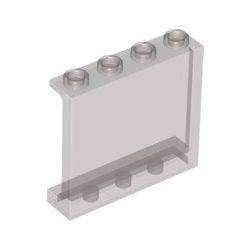 Paneele 1x4x3, transparent braun