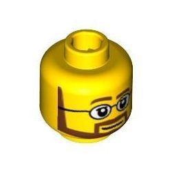 Kopf 386, gelb