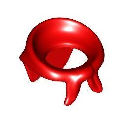 Halstuch, rot