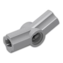 Achsen- und Pinverbindung 3 - 157.5 Grad, hellgrau