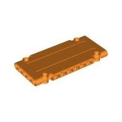 Paneele 5x11x1 mit 4 Pinlöchern, orange