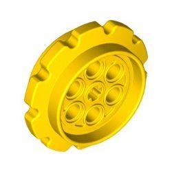 Kettenrad gross, gelb