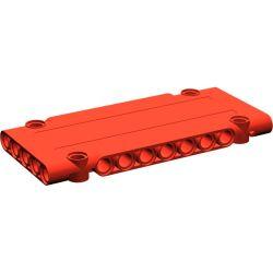 Paneele 5 x 11 x 1 mit 4 Pinlöchern, rot