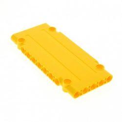 Paneele 5 x 11 x 1 mit 4 Pinlöchern, gelb