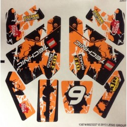 Sticker 42007 Moto Cross Bike