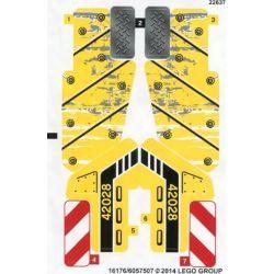 Sticker 42028 Bulldozer