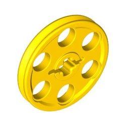 Seilrolle / Riemenrad, gelb