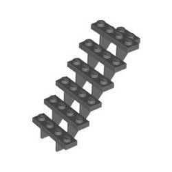 Treppe 7x4x6, dunkelgrau