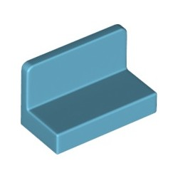 Paneele 1x2x1, azurblau