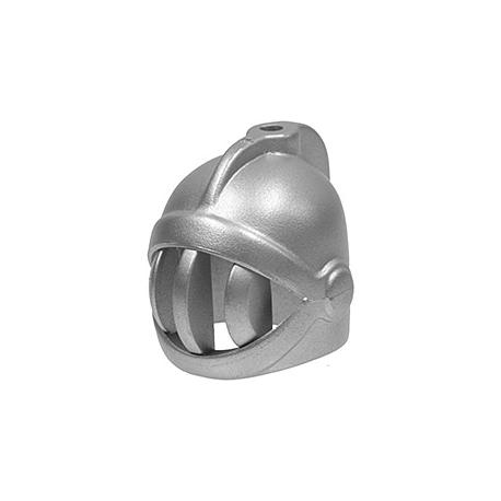 Ritter Helm, silber metallic