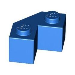Stein 2x2 Winkel, abgeschrägt, blau
