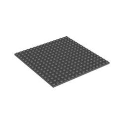 Platte 16x16, dunkelgrau