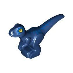 Baby Velociraptor, dunkelblau