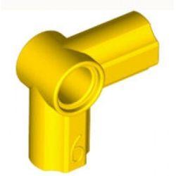 Achsen- und Pinverbindung 6 - 90 Grad, gelb