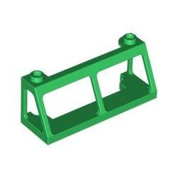 Zug Front 2x6x2, grün