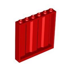 Paneele gewellt 1x6x5, rot