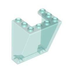 Windschutzscheibe 3x4x4 inv, transparent hellblau
