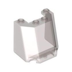Windschutzscheibe 4x3x3, transparent braun