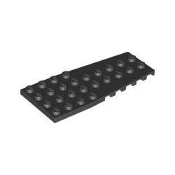 Platte 4x9 abgeschrägt, schwarz