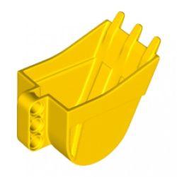 Baggerschaufel 4 x 7, gelb