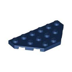 Platte 3x6, abgeschrägte Ecken, dunkelblau