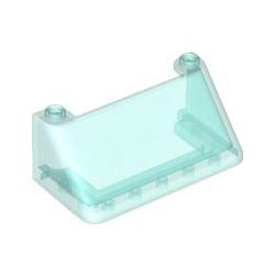 Windschutzscheibe 6x3x2, transparent hellblau