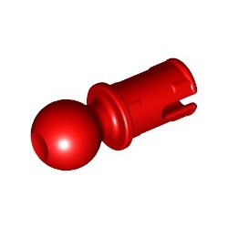 Pin (mit Reibung) und Kugelende, rot