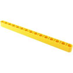 Lochbalken 1 x 15 dick, gelb