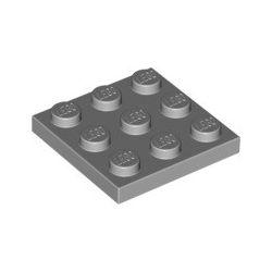 Platte 3x3, hellgrau