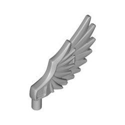 Flügel gefedert, hellgrau