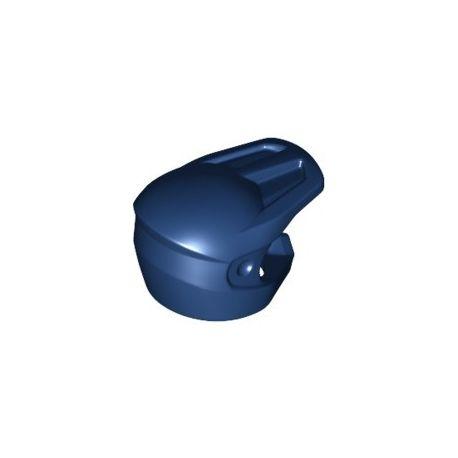 Motocross Helm, dunkelblau