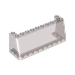 Windschutzscheibe 3x10x3, transparent braun