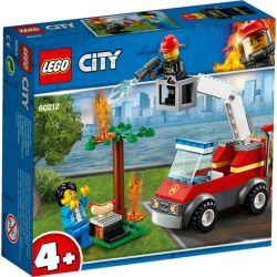 Feuerwehr beim Grillfest