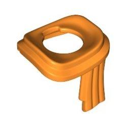 Schal, orange