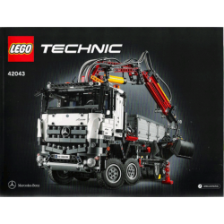 Bauanleitung 42043 Mercedes-Benz Arocs 3245