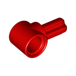 Achsennabe kurz mit Pinloch, rot