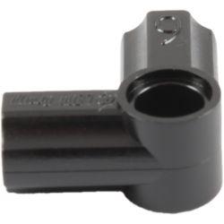 Achsen- und Pinverbindung 6 - 90 Grad, schwarz