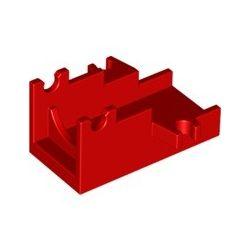 Lafette / Basis für Kanone, rot