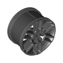 Felge 56mm x 34mm, schwarz