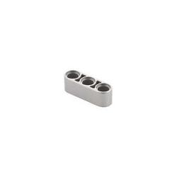 Lochbalken 1 x 3 dick, silber metallic