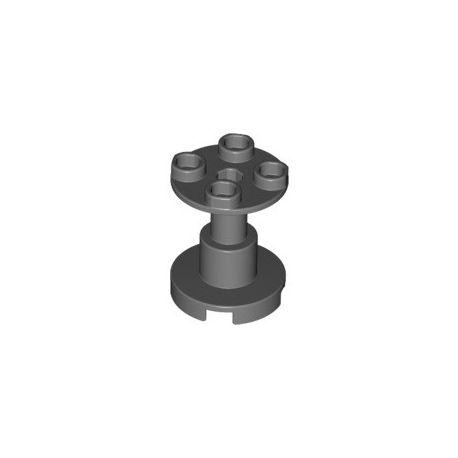 Gestell 2x2x2 rund, dunkelgrau