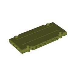 Paneele 5x11x1 mit 4 Pinlöchern, olivgrün