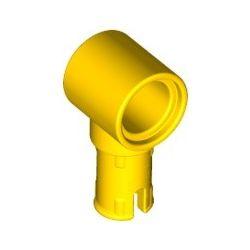 Pin (mit Reibung) und Pinloch, gelb