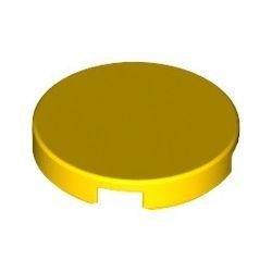Kachel / Fliese 2x2 rund, gelb
