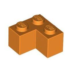 Stein 2x2 Winkel / Ecke, orange